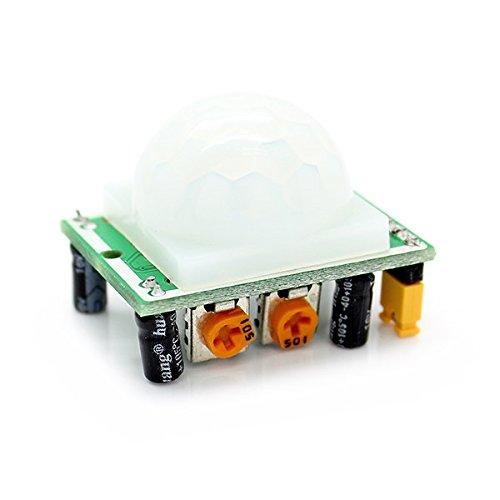 (Envistia HC-SR501 PIR IR Passive Infrared Motion Detector Sensor Module Arduino DIY)