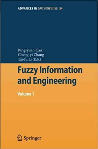Book Fuzzy Information and Engineering: Volume 1 (Advances in Intelligent and Soft Computing) (2008-12-05)