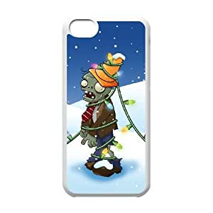 plants vs. zombies iPhone 5c Cell Phone Case White xlb2-060129