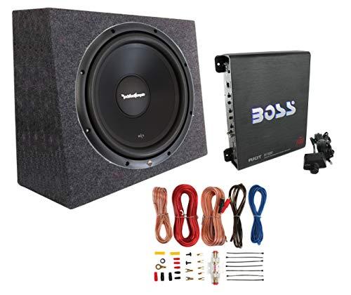 Audio Subwoofer Boxes Car (Rockford Fosgate R1S4-10 10