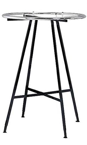Black Round Clothing Rack 48'' x 72'' x 3'' by STORE001
