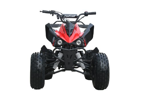 125cc Sports ATV 8'' Tires with Reverse, Red