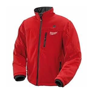 Milwaukee M12HJL-0 - Abrigo calentado de gran tamaño, color rojo
