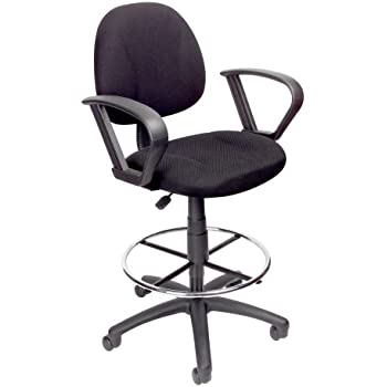 Amazon Com Drafting Chair With 360 Footrest Amp Swivel And