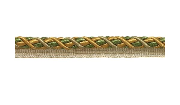 27 Yard Package of Large Lilac Gold Baroque Collection 716 Decorative Cord Without Lip Style# 716BNL Color Winter L