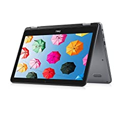 The Dell Inspiron 3000 is a versatile 2-in-1 design with 360-degree multi-mode hinge (best of both worlds) multi-mode hinge design rotates to support 4 modes laptop Stand/easel tent tablet Laptop mode lets you use conventional keyboard to Typ...