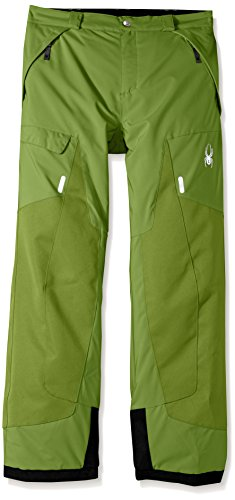 Spyder Boy's Action Ski Pant, Fresh, Size 10 by Spyder