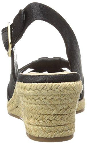 Bella Vita Seraphina II Stoff Keilabsätze Sandale Black Silk