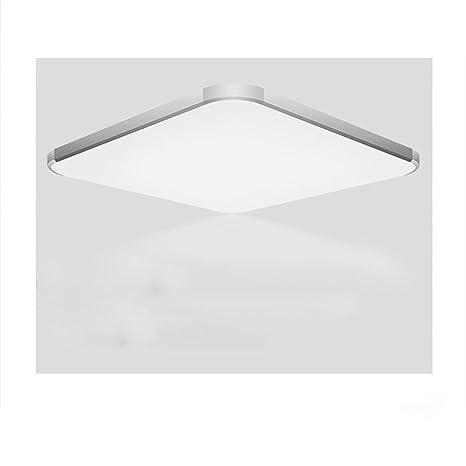 Lámpara Luz De Techo LED Blanca Con Detector De Movimiento, Luz De Sensor De Radar