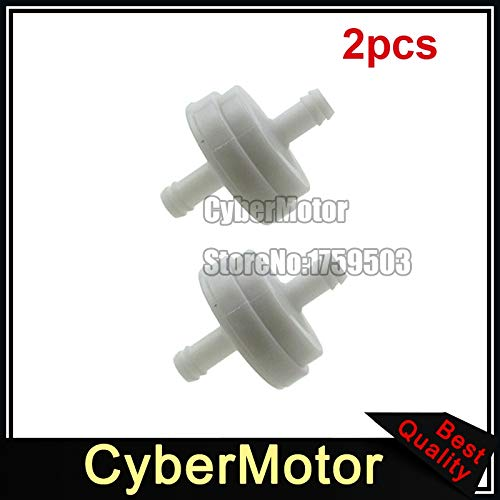 Fincos 1/4' Fuel Filter for Briggs & Stratton 394358 394358B 394358S 4112 5098 5098H 5098K
