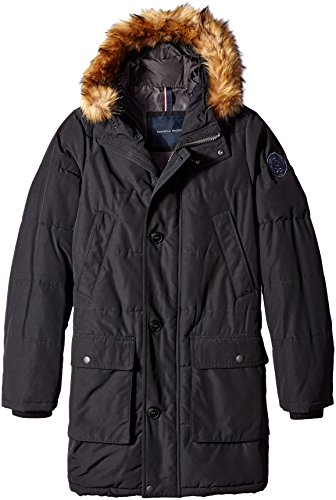 Big & Tall Arctic Cloth Full Length Quilted Snorkel Parka, Black, 2X Big & - Mens Arctic Parka