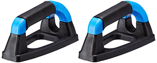 Nivia Plastic Push Up Bar, 4 inch  Blue