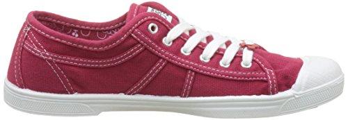 Le Temps des Cerises Damen Basic 02 Sneaker Rot (Rouge Rouge)