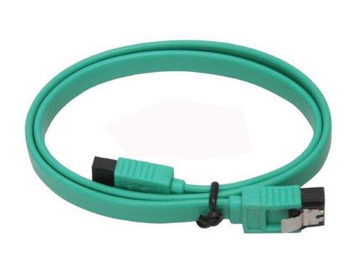 UPC 842431013101, Xion XON-SATA1818ML_GR 18-Inch SATA II with Metal Latch Cable (Green) - Retail