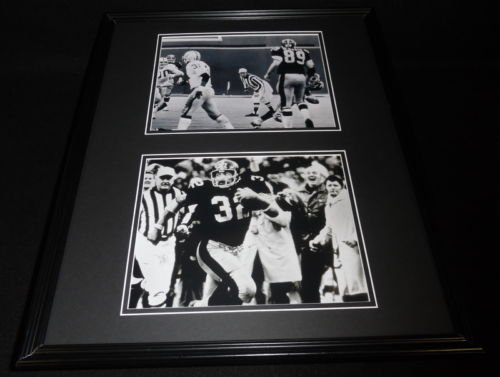 - Franco Harris Immaculate Reception Framed 16x20 Photo Display Steelers