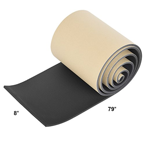 ELUTO 2 Pack Garage Wall Protector Car Door Protector Self Adhesive Foam Parking Protector for Garage Wall 2 Pieces in One Roll 1//4 Thickness