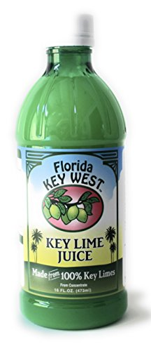 100% Authentic Key Lime Juice 16 (Floridas Natural Fruit Juice)