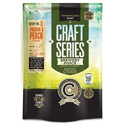 Mangrove Jack's Craft Series Peach and Passionfruit Hard Cider Pouch
