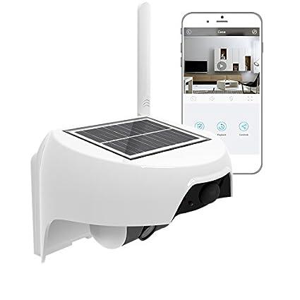 Cámara IP 100% HD sin hilos a batería, inalámbrico y Wi-Fi,