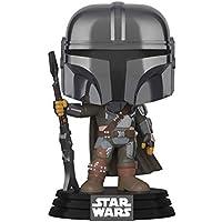 Funko Pop! Star Wars: The Mandalorian - Mandalorian (Chrome), Amazon Exclusive