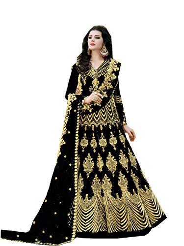 Indian Traditional Party/Wedding wear Anarkali Type Salwar Kameez for Women (2031)