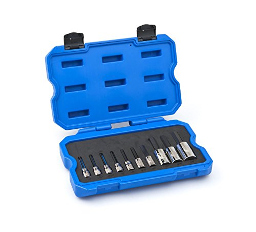 Price comparison product image Armstrong 15-430 10 Piece 3 / 8-Inch and 1 / 2-Inch Drive Hex Driver Socket Set