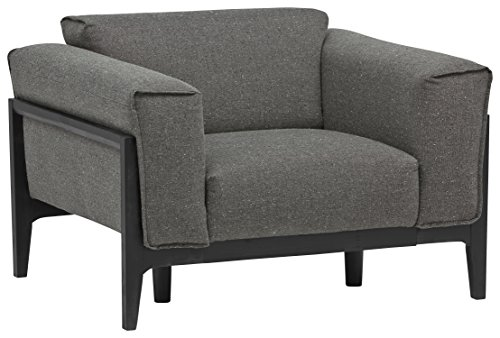 Rivet Apex Oversized Mid-Century Modern Living Room Accent Chair, 41.7