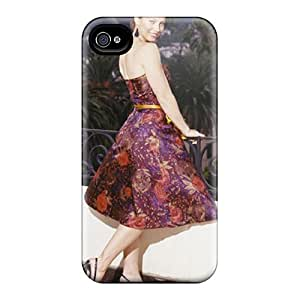 Protective Tpu Case With Fashion Design For Iphone 4/4s (jessica Biel)