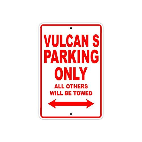 Kawasaki Vulcan S Parking Only All Others Will Be Towed Motorcycle Bike Super Bike Chopper Novelty Garage Aluminum 8x12 inch Sign ()