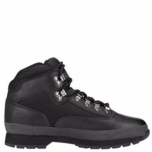 Timberland Men's Euro Boot,Black Smooth,11 M US