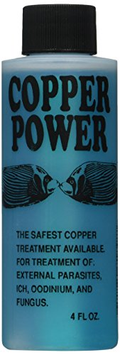 Copper Power (Endich) ACP0004B Blue Treatment for Marine Fish, 4-Ounce