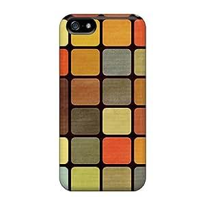 Fashion CsFUUGC642qrQUe Case Cover For Iphone 5/5s(rubiks Cube Squares Retro)