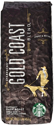 Starbucks Gold Coast Grade, Whole Bean Coffee (1lb)