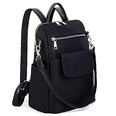 UTO Women Backpack Purse 3 Ways Oxford Waterproof Cloth Nylon Ladies Rucksack Shoulder Bag