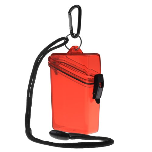 Witz Keep-It Cleaner Waterproof Case, Red