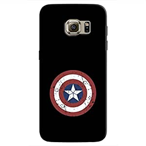 Cover It Up - Captain Shield Print Galaxy S7 Hard Case
