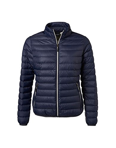 in Silver classic Light down design Ladie's 2Store24 jacket Navy I87gHTq