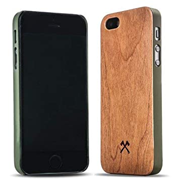 coque en bois iphone 5