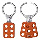 Master Lock Lockout Tagout Hasp, Vinyl Coated