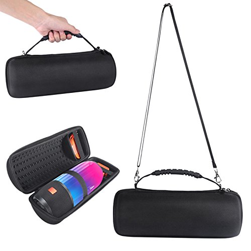 XBERSTAR EVA Hard Carry Storage Case Portable Travelling Bag for JBL Pulse 3 Waterproof Wireless Bluetooth Speaker (Black)