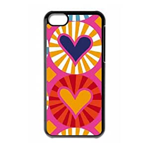 Ginza Hearts iPhone 5c Cell Phone Case Black phone component RT_225043