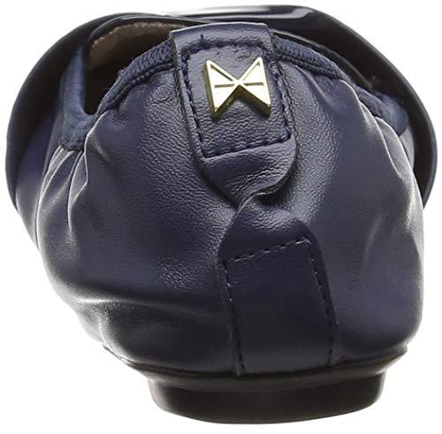 Twists 013 para Rebecca Navy Mujer Blue Punta Cerrada Bailarinas Butterfly con vYATgxwqvd