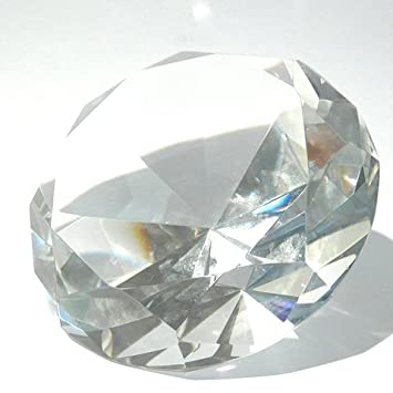 Deko Diamanten Groß.10 Cm Glasdiamanten Mit Wunderschönen Facetten Als Deko Diamant Glas Diamant In Klar