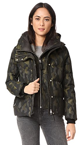 Mackage Women's Cecily Down Jacket, Camo, Medium by Mackage