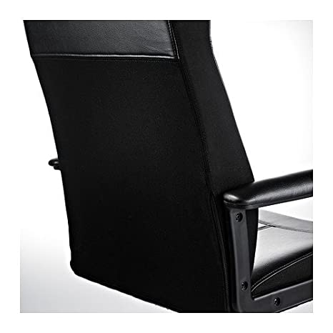 Ikea Malkolm - Silla giratoria, Negro: Amazon.es: Hogar