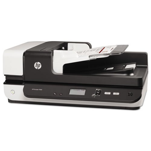 HP Scanjet Enterprise 7500 Flatbed Scanner, 600 x 600 dpi