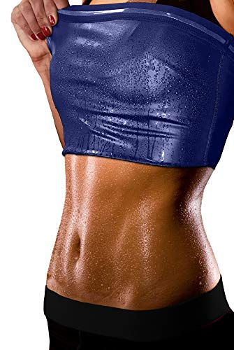 - Sweat Shaper Women's Premium Workout Tank Top Slimming Polymer Sauna Vest