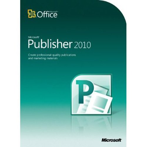 Microsoft Publisher 2010: Amazon.co.uk: Software