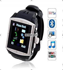 Quad-band waterproof watch mobile phone G2