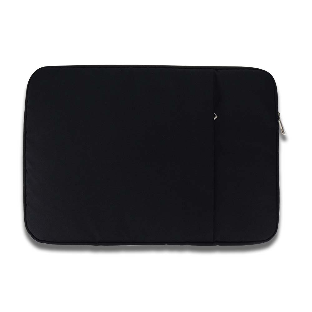 ANG 13 Inch Laptop Sleeve Case Bag Cover with Accessory Pocket, Protective Carrying bag Cover for Macbook Pro,Macbook Air,Lenov,Dell,Toshiba,HP,Acer,Chromebook Notebook (13 inch, black)